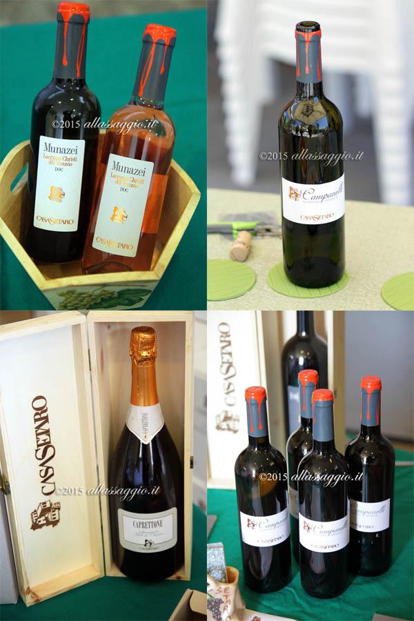 collage bottiglie