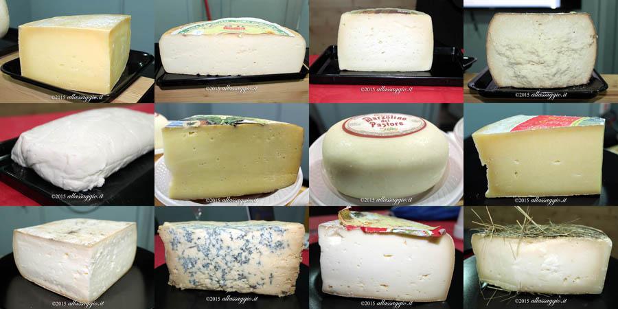 collage formaggi