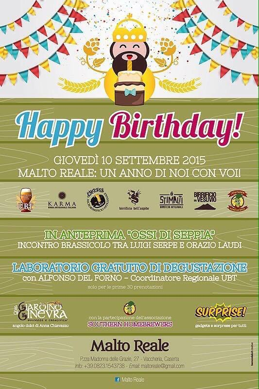 Birthday Malto Reale