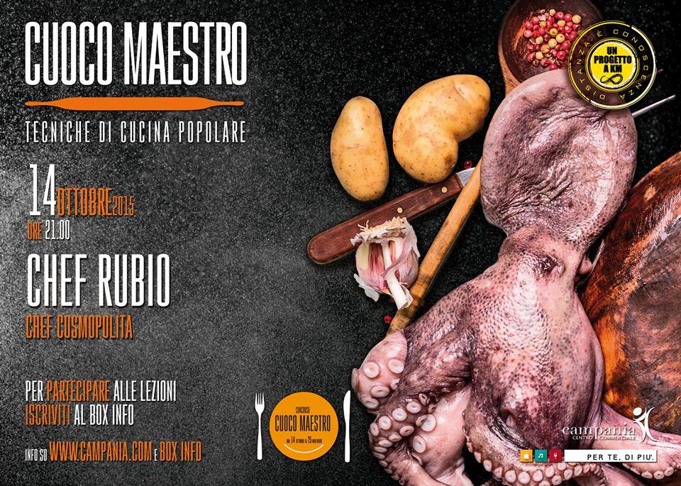Chef Rubio Cuoco Maestro