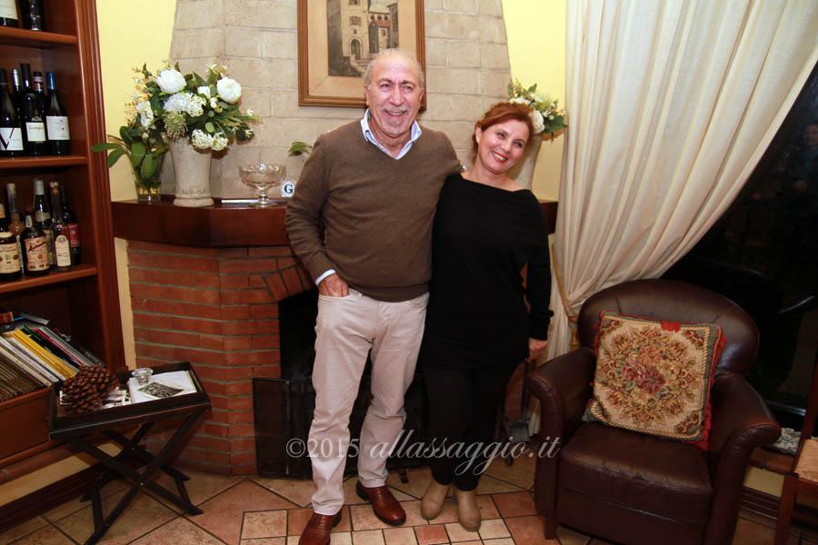 Gino Della Valle e Marilena Giuliano
