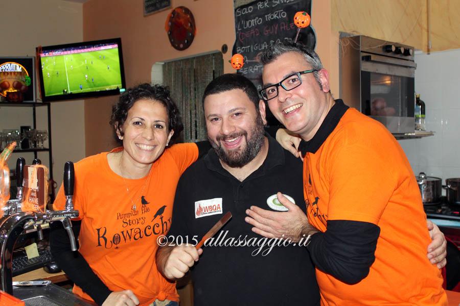 Mena D'Avino, Venerando Valastro e Luca Mauriello