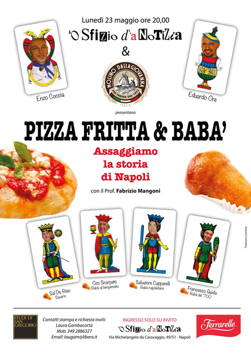 Pizza fritta e babà