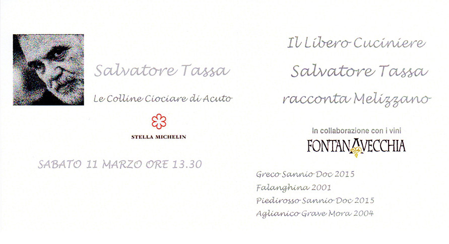 Salvatore Tassa 11 marzo