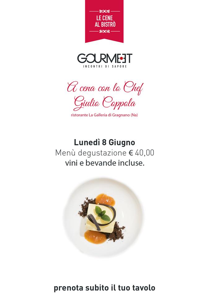 8 giugno Giulio Gourmeet