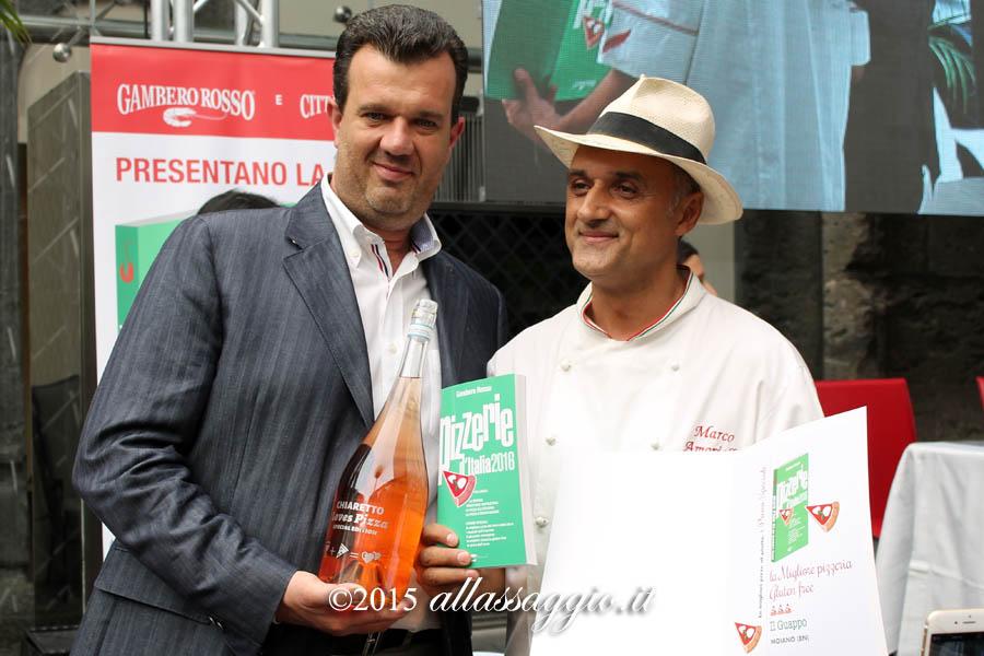Marco Amoriello gluten free