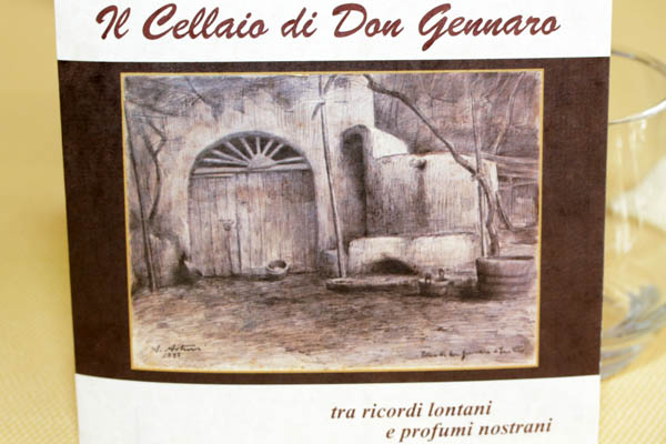 Il cellaio di Don Gennaro