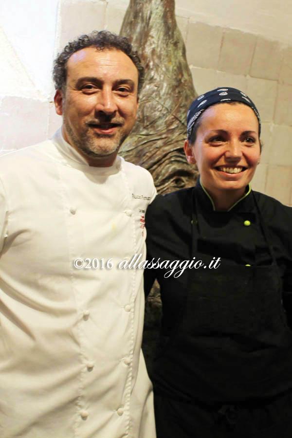 Lino Scarallo e Marianna Vitale