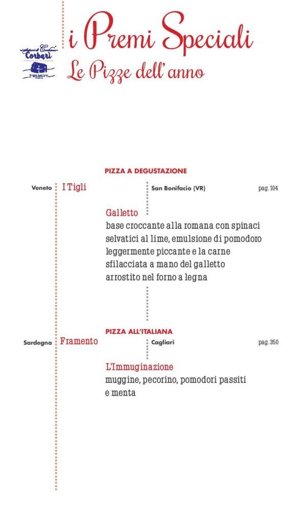 Pizze dell'anno - a degustazione - all'italiana