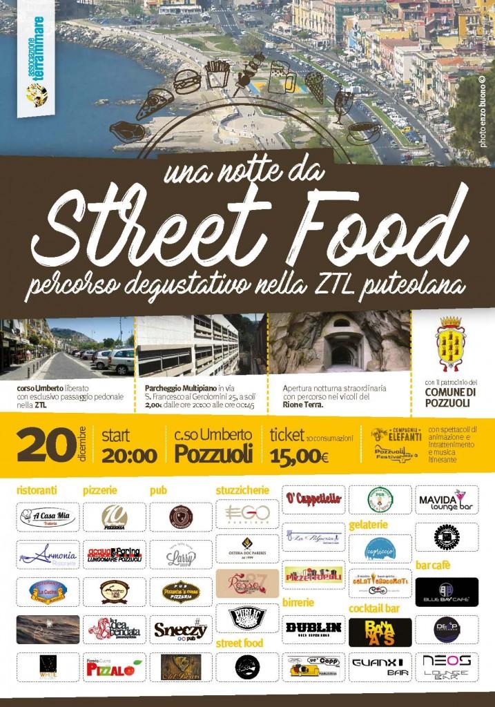 20 dicembre Pozzuoli una notte da streetfood