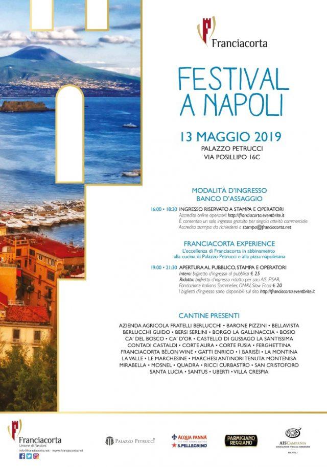 Festival Franciacorta a Napoli