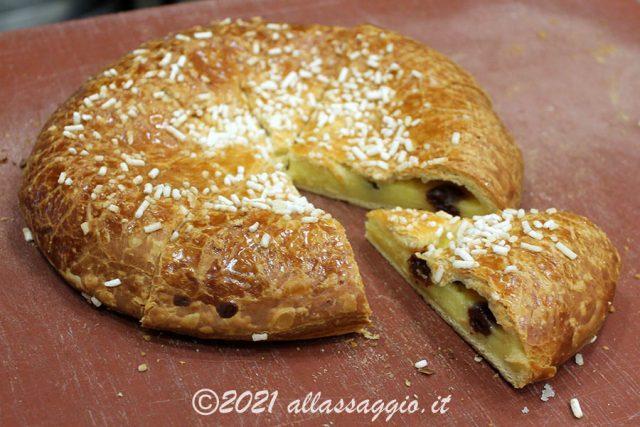 Polacca Aversana in versione torta